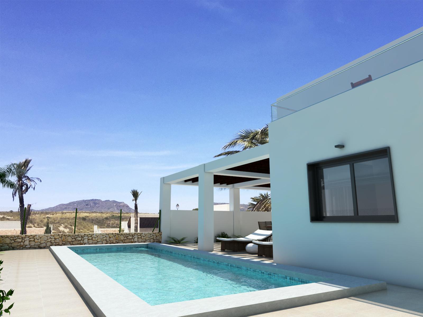New Build Villa Paraleja Golf