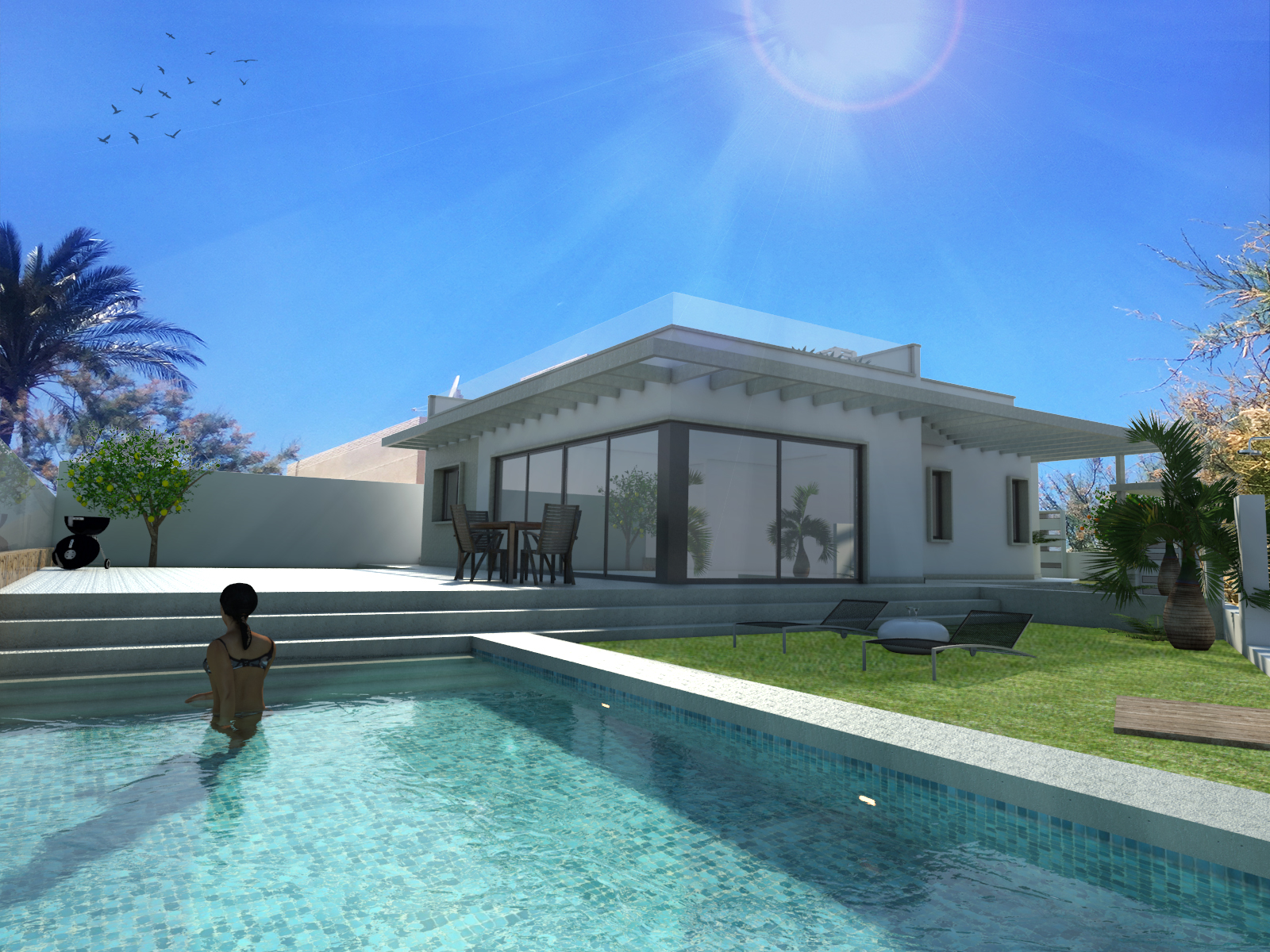 Luxury Villa With Pool Paraleja Golf