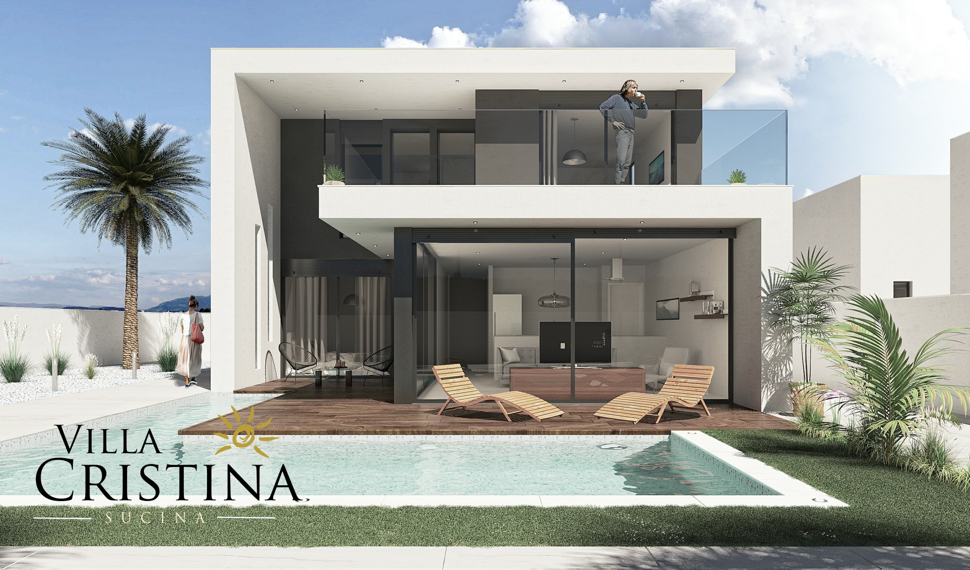 Detached Large Modern Villa
