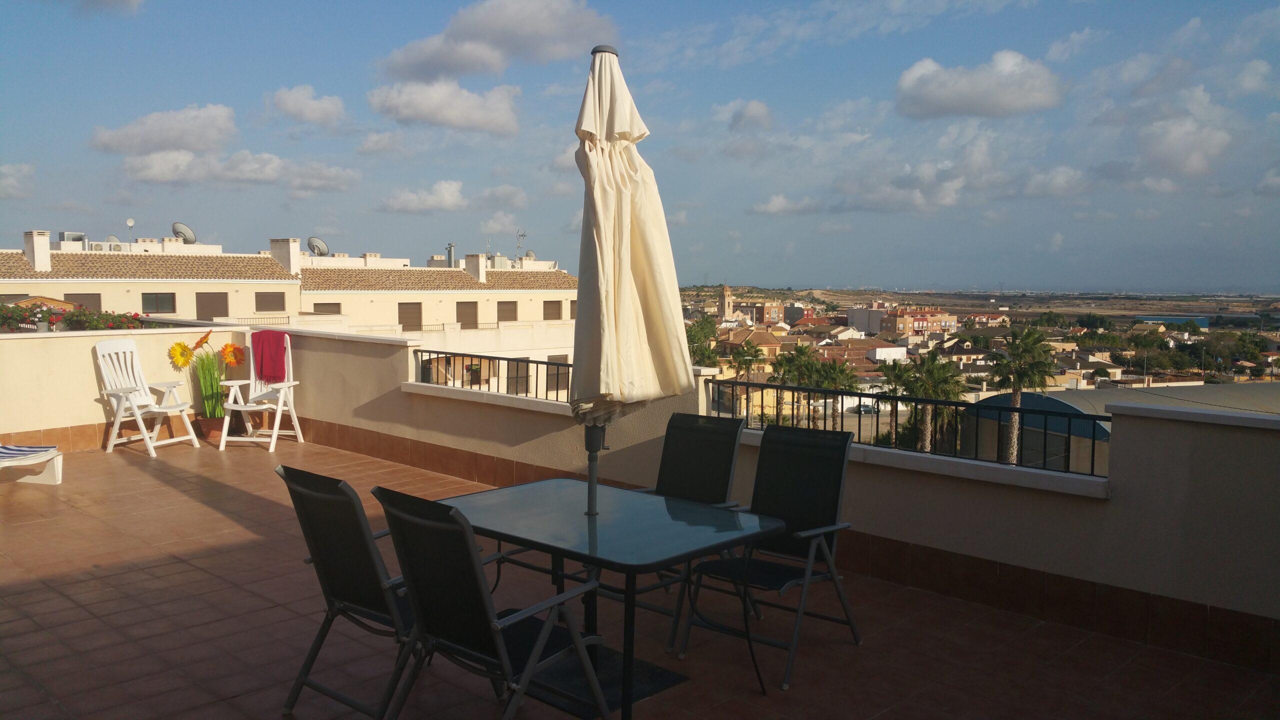 Penthouse with panoramic views